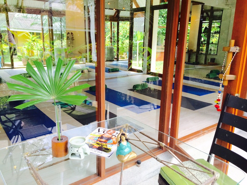 Baan Yoga Retreat Phuket Garden Yoga Studio