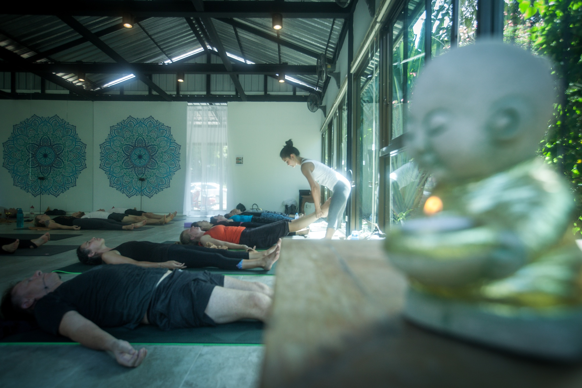 Baan Yoga Retreat Phuket Yoga Studio 2