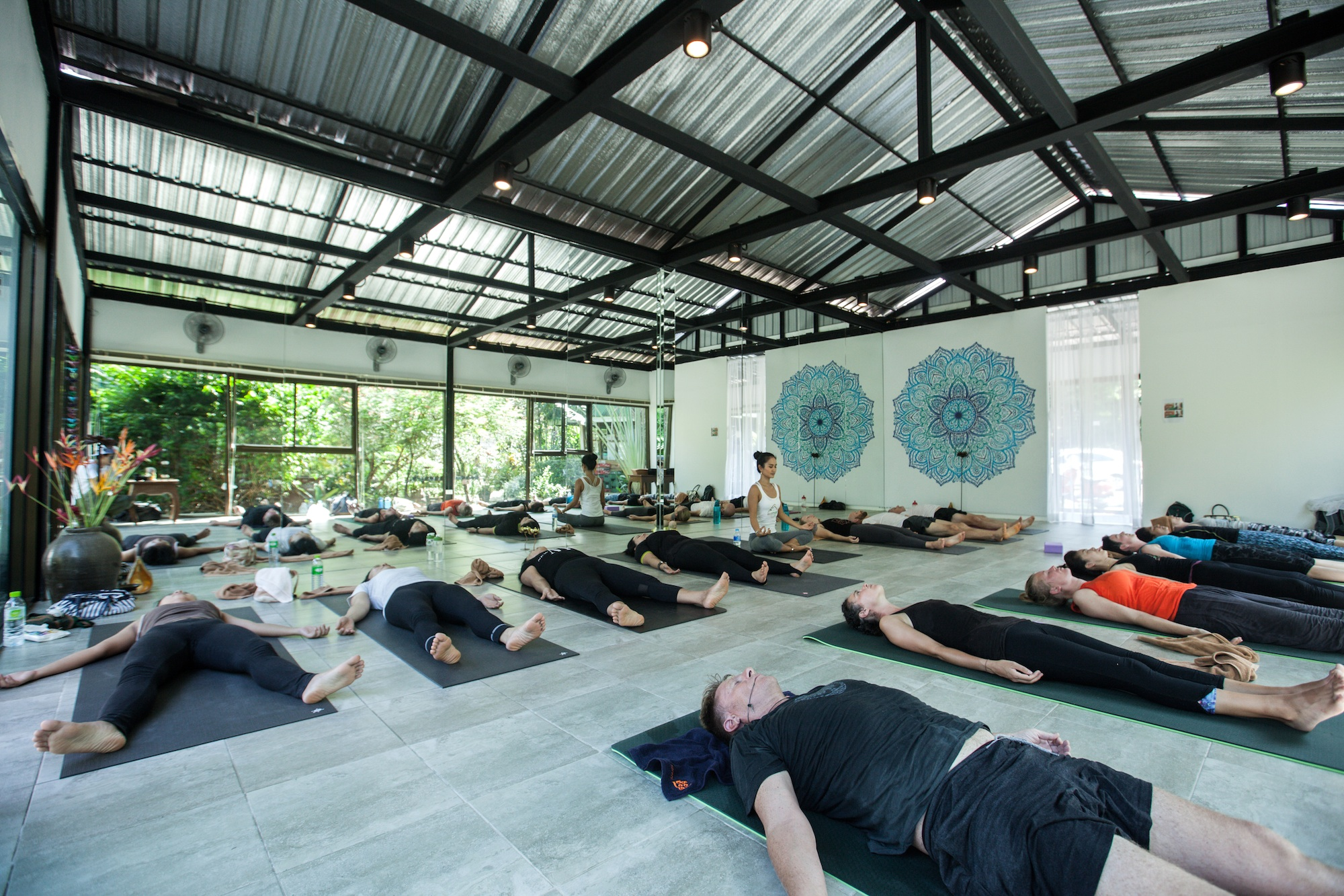 Baan Yoga Retreat Phuket Yoga Studio 4