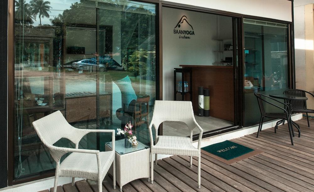 Baan Yoga Retreat Phuket Front Studio