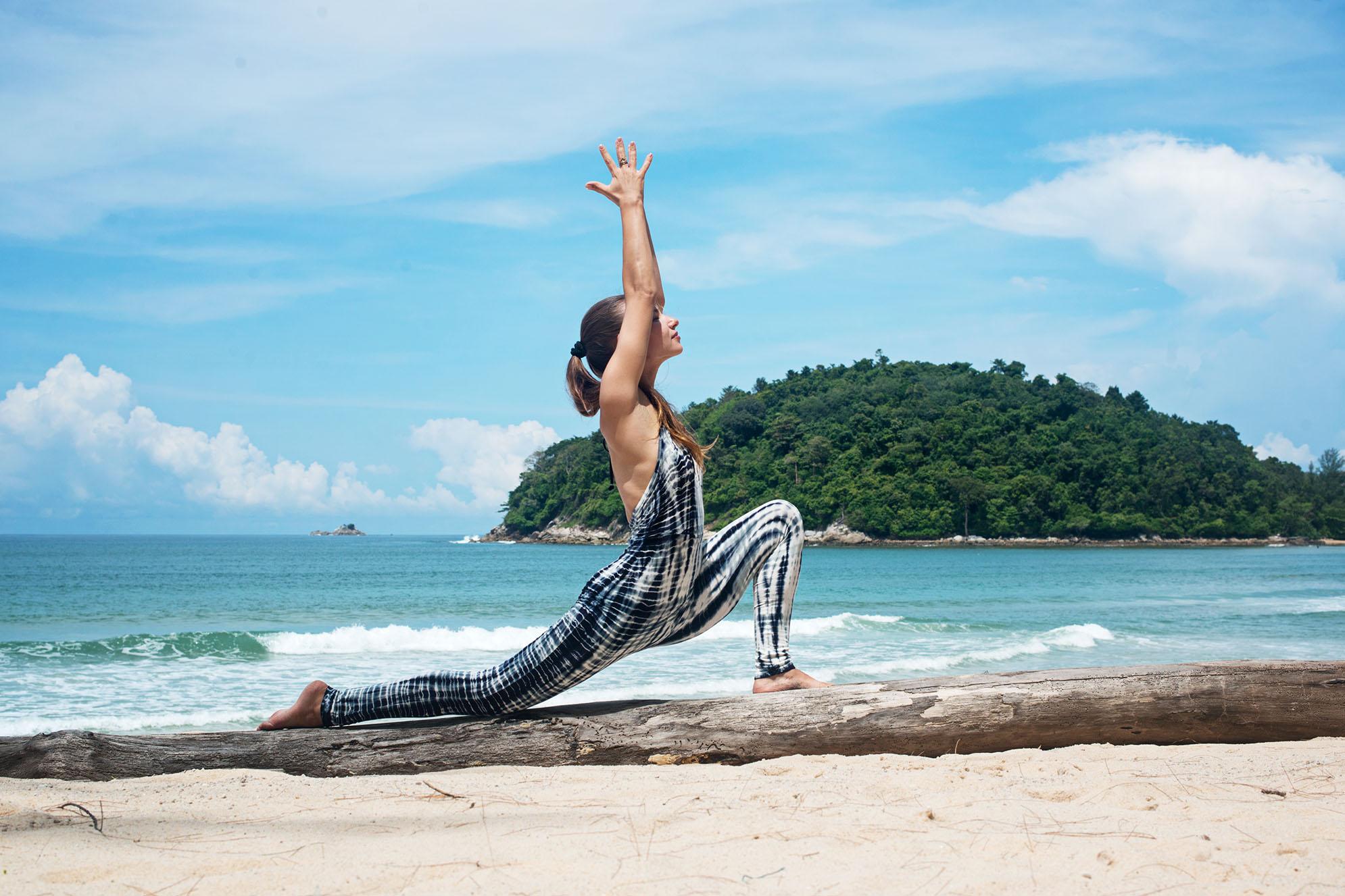 Low Lung Omlala Yoga Tie Dye Jumpsuit Legging Phuket
