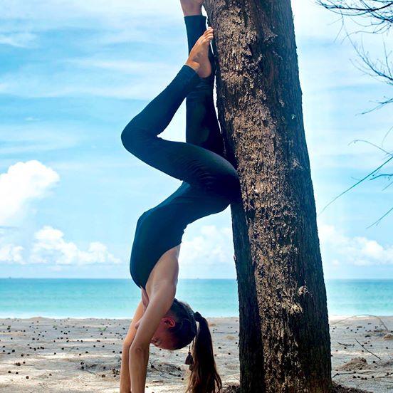 OMlala Phuket Yoga Jumpsuit Chakra Black 1
